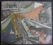 Center (papier acryl 34x40 cm)