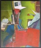 Chaos (papier acryl 40x34 cm)