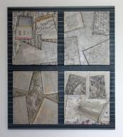 Evolution (MDF - papier - vernis 73 x 118 cm)
