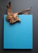 Free (mdf acryl hout hoogte ca 50 cm breedte 34 cm)