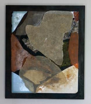 Majoor Bosshardt (MDF - afvalkunststof - glas - acryl 40 x 34 cm)