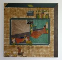 Onbalans (MDF - acryl 68 x 68 cm)