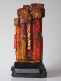One mind (keramiek acryl hoogte ca 28 cm)