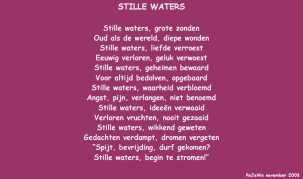 Stille waters (nov 2003)