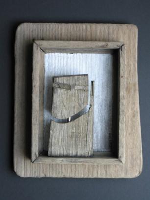 Wachter (hout hoogte ca 25 cm)