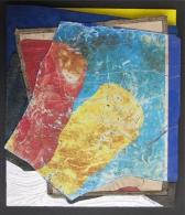 We (kunstof stof leer acryl 40x34 cm)